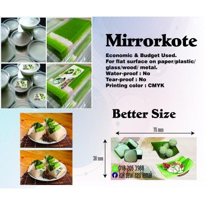 Mirrorkote (Round/Square) - Direct Print