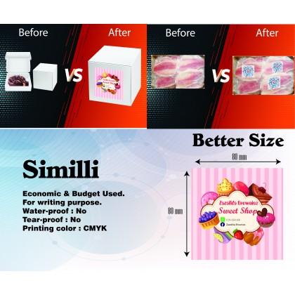 Simili (Round/Square) - Direct Print