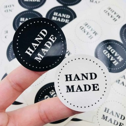 Sticker Promotion - 50mm x 50mm Food/Products Stickers & Labels [Round/Square]